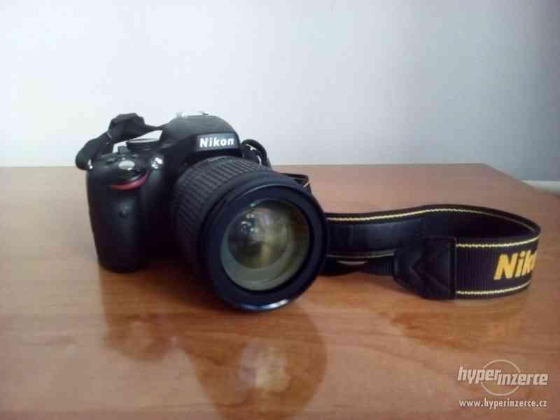 Prodám Nikon D5100 + 18-105 AF-S DX VR, stativ a brašnu