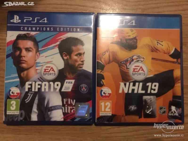 FIFA 19 a NHL 19