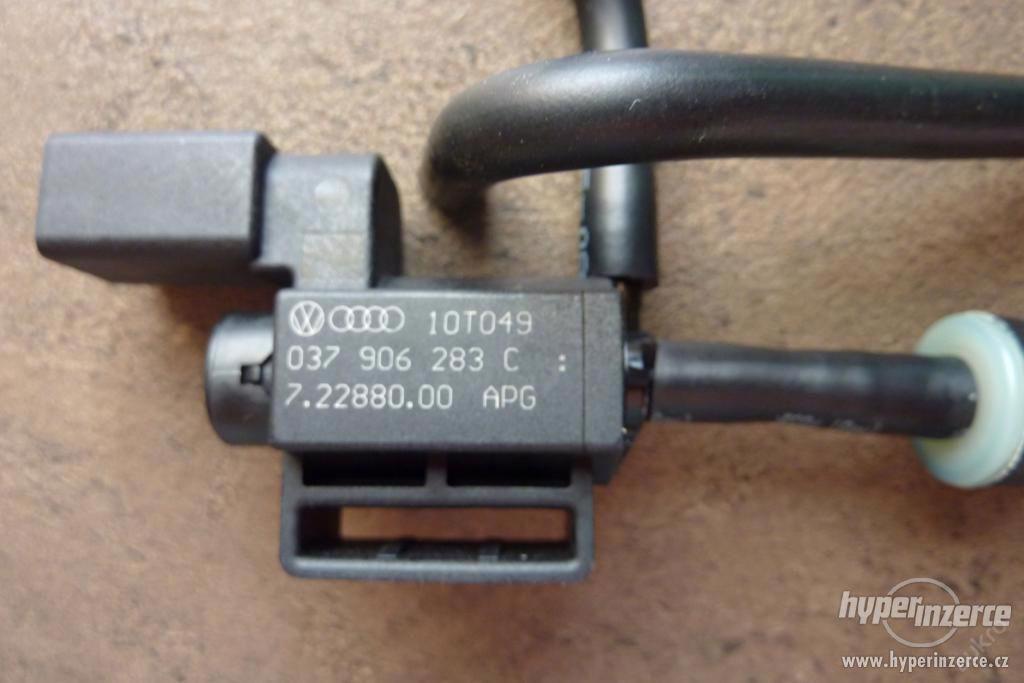 Ventil magnetický skrt. klapky - NOVÝ originálí díl - foto 1