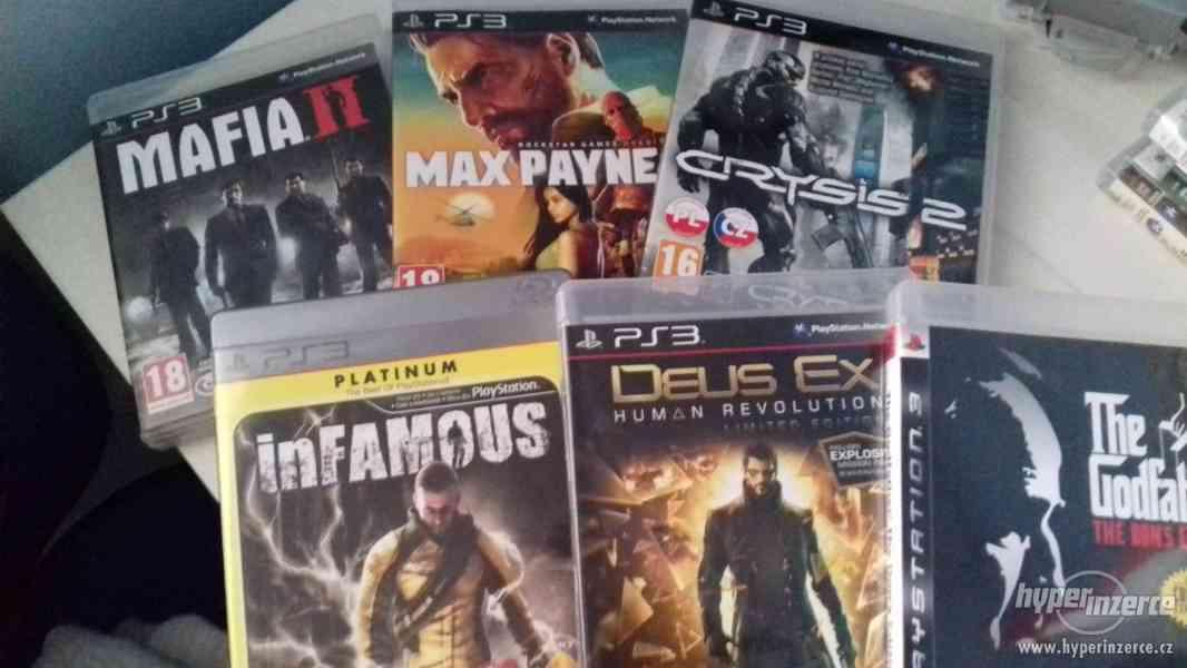 Prodám hry na Playstation3-PS3