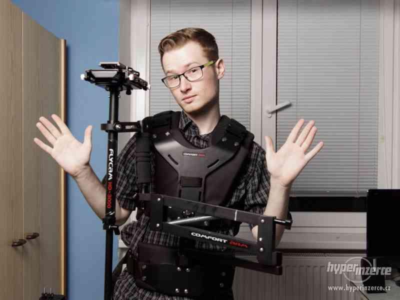 profi video stabilizátor Flycam HD-3000 + profi stabilizační - foto 5
