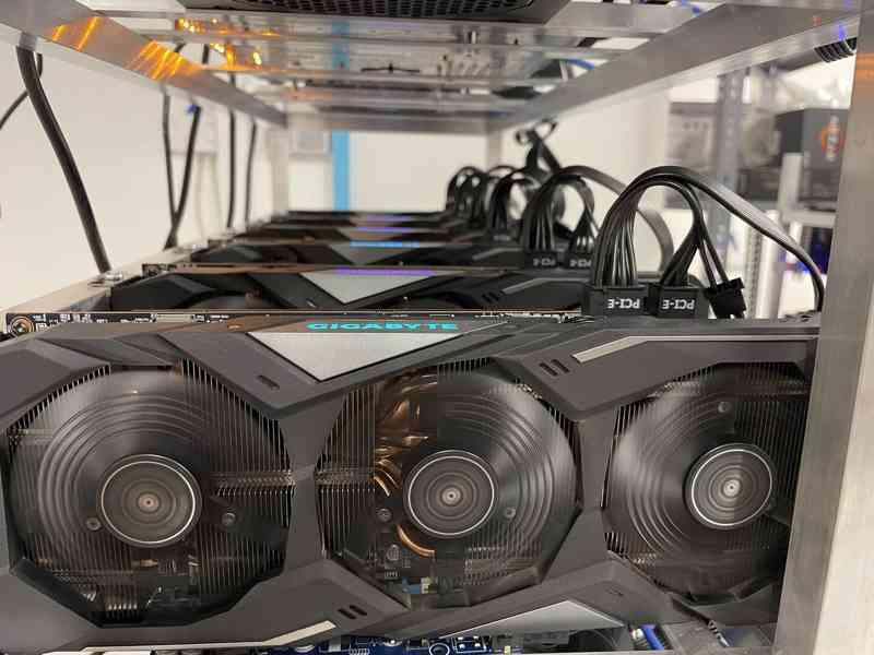 RX 5700 XT Gigabyte/Sapphire - Rig 6X GPU