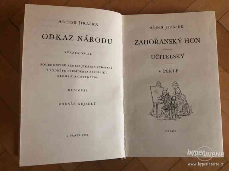 Alois Jirásek Vybrané spisy 31 svazků - foto 3
