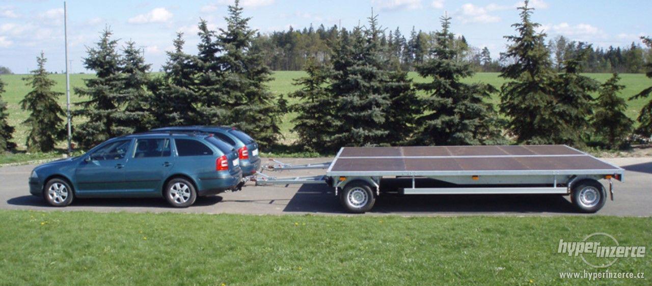 Točnicový přívěs za osobní automobil