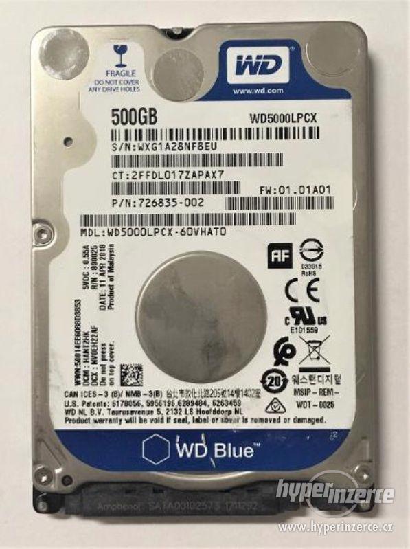 """HDD do NB WD Blue WD5000LPCX 500GB 5400ot 2,5"""" SATA III"""