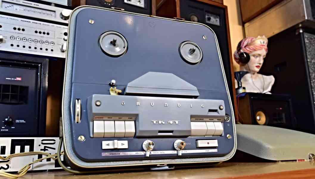 GRUNDIG TK 41 elektronkový magnetofon 1962-1966