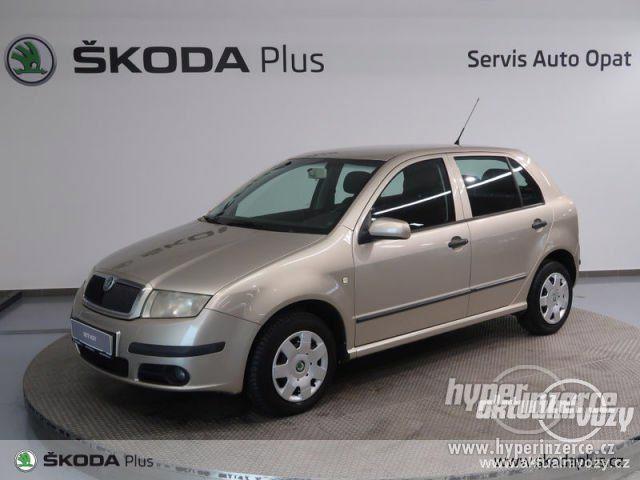 Škoda Fabia 1.2, benzín, r.v. 2004, el. okna, STK, centrál, klima