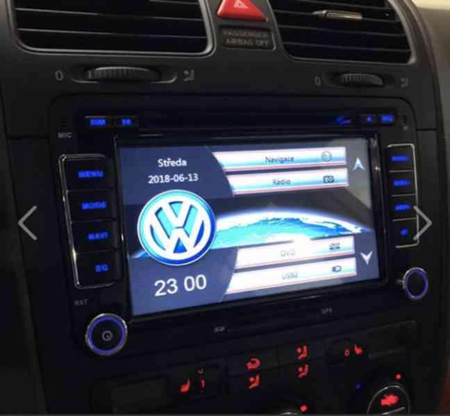 Nové autorádio S1 s CZ GPS navigací a BLUETOOTH