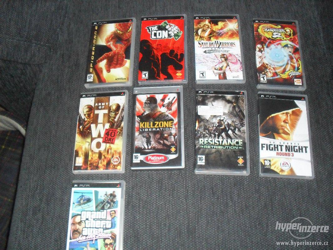 Prodám hry na PSP- 9 her - foto 1