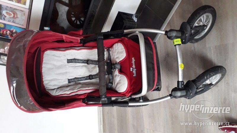 Kočárek trojkombinace Baby design - foto 4