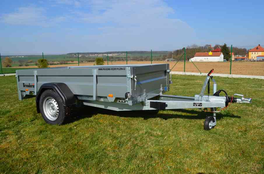 Přívěsný vozík Brenderup 2260 - sklopný, 258x153