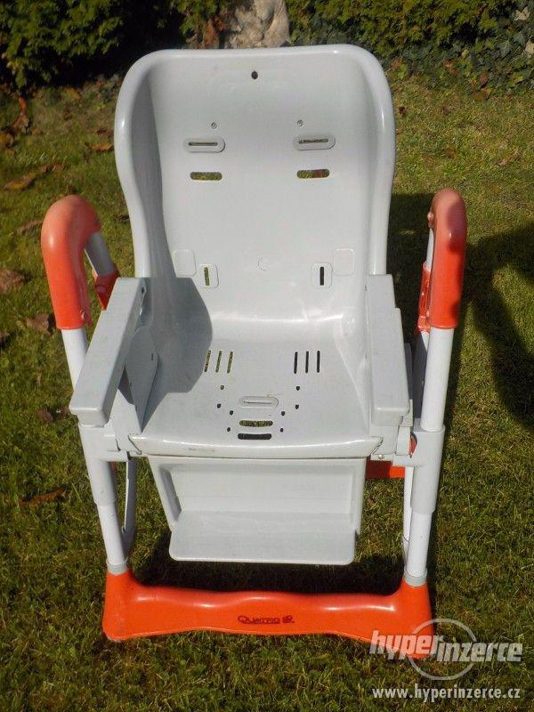 Dětská polhovací jídelní židlička ke stolu