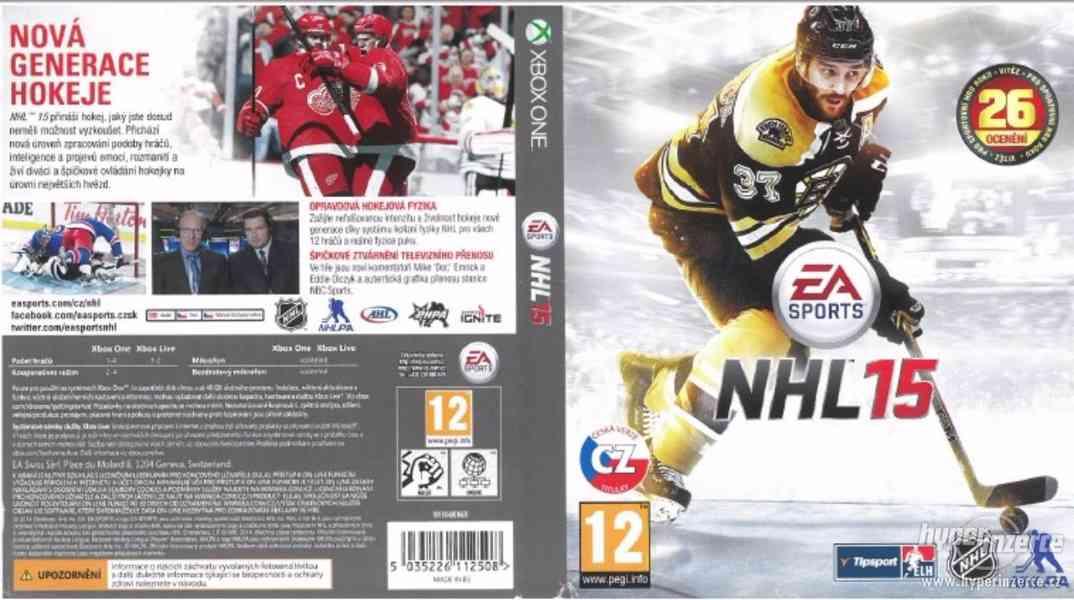 Hra NHL 2015 na Xbox One - foto 1