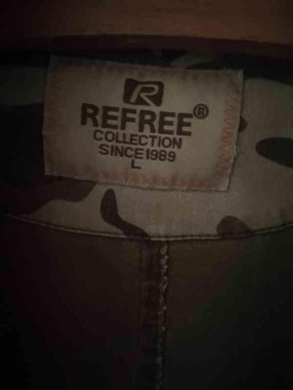 Džínové maskáčové sáčko REFREE  - foto 2