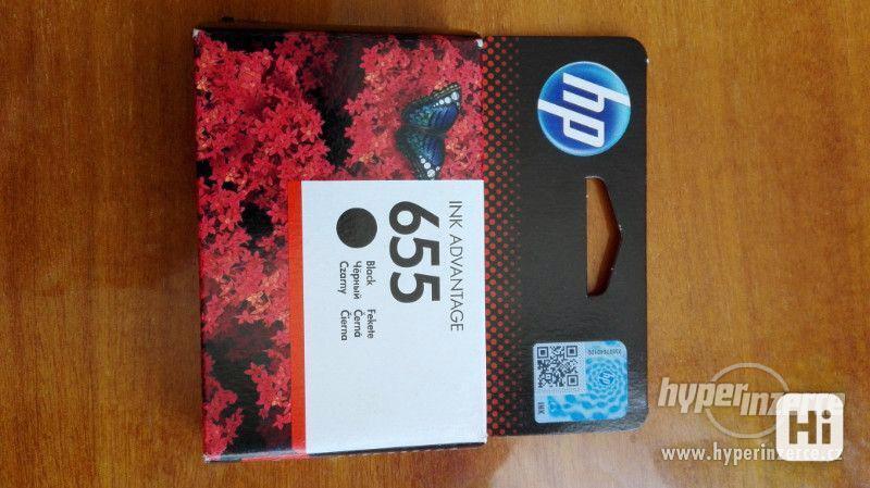 Černá barva do tiskárny - HP INK ADVANTAGE 655 - foto 2