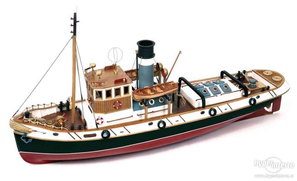 Rozostavany RC model Occre Ulises - foto 4