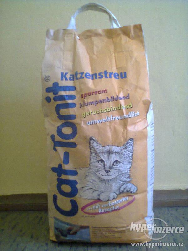 Stelivo do záchodku pro kočky a králíčky. 20 kg. - foto 1