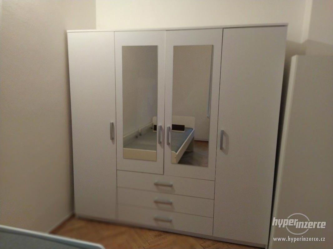 skříň Veneti Skylyna bílá 200x200x60cm - foto 1