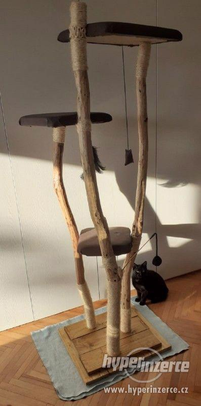 Škrabadlo /kočičí strom, 190cm