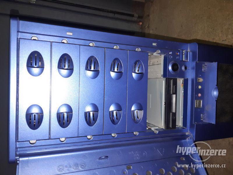 Tower Server Case - Chieftack modrá - foto 7