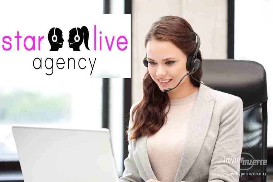 Interaktivní chat-Operátorka - foto 1