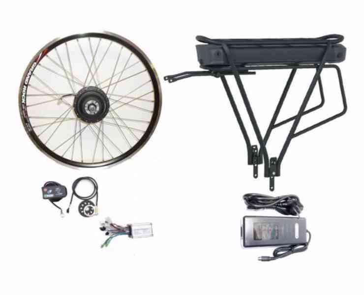 Přestavby jízdních kol na elektrokola - foto 2