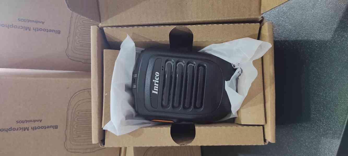 Bluetooth PTT mikrofon Inrico B-01 - foto 1