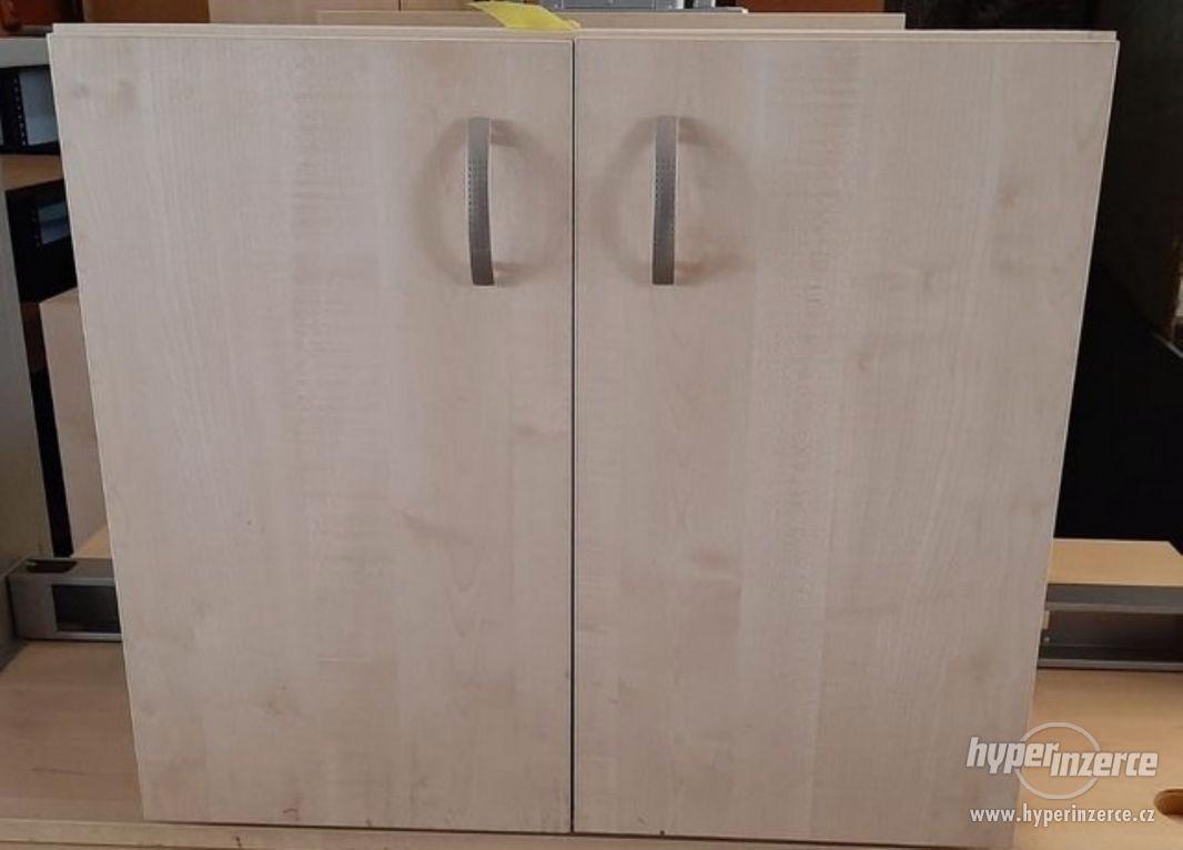 Skříňka kancelářská světlá 40x80x70 cm (15003.) - foto 1