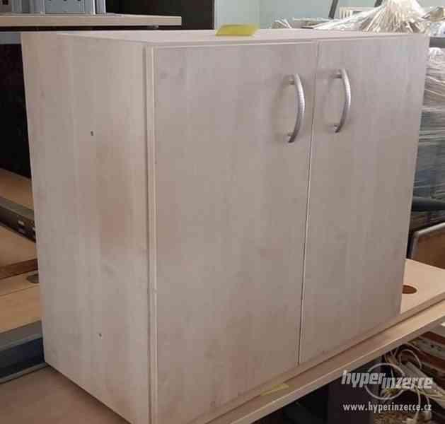 Skříňka kancelářská světlá 40x80x70 cm (15003.) - foto 2