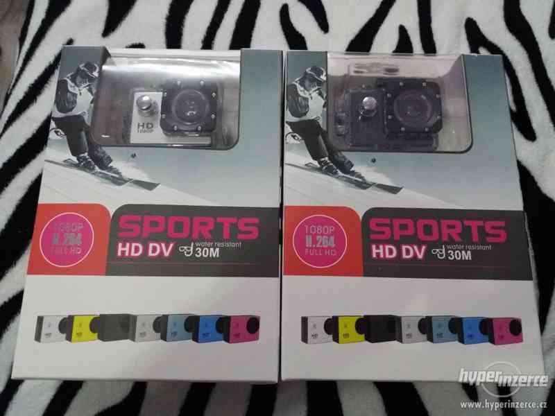 DÁREK EXTRÉM Sportovní HD kamera REÁLNÉ FOTO. Toto přesně od
