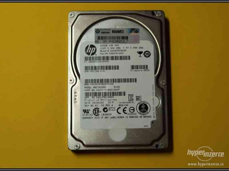 "Disk HP 600GB SAS 2,5"" 10K 6G HotPlug 599476-003"