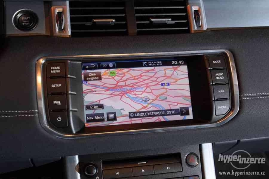 Mapy Land Rover, Range Rover aktuální DVD do navigace