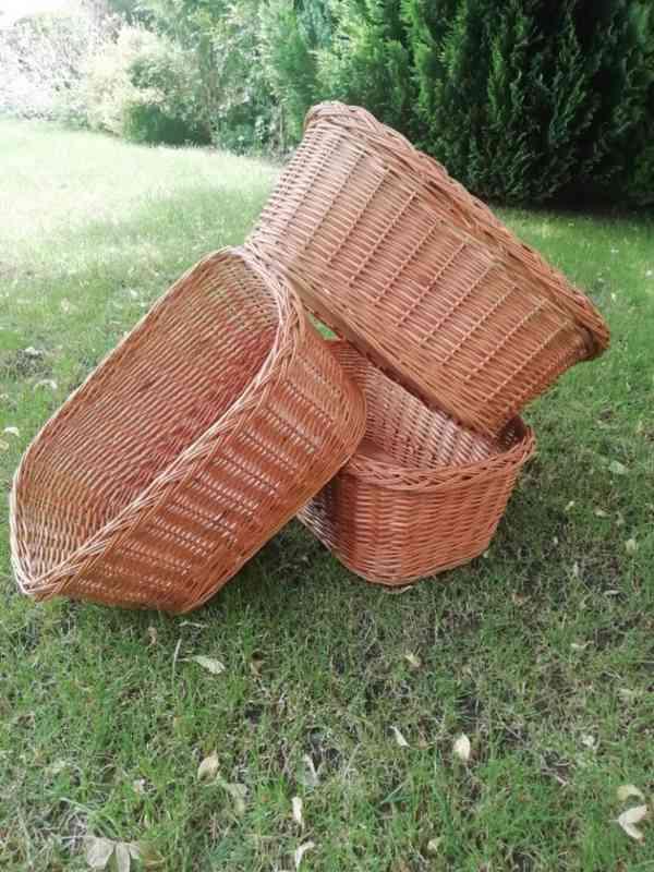Proutěné košíky - foto 1