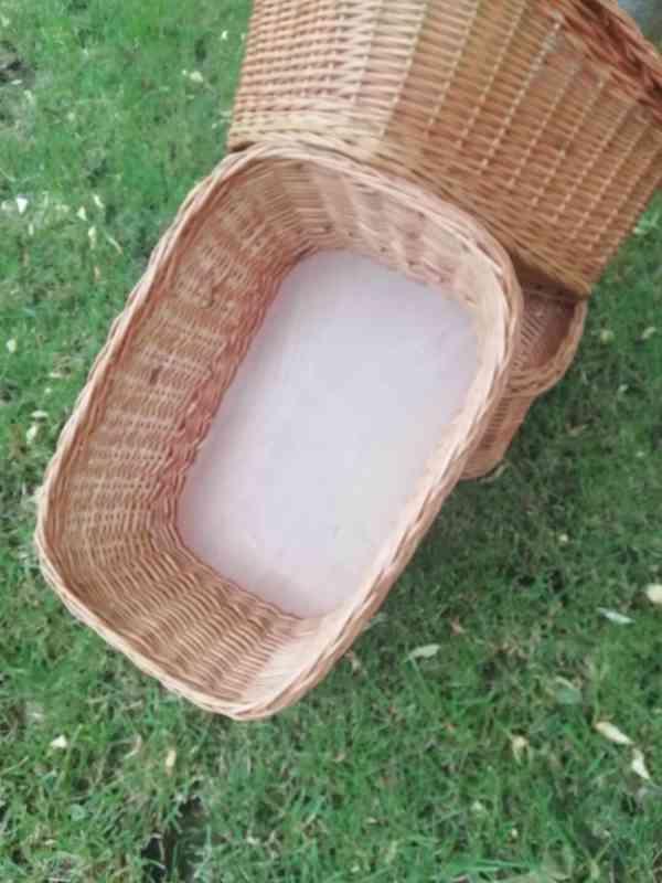 Proutěné košíky - foto 2