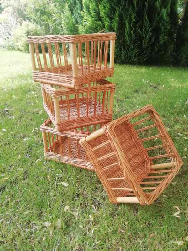 Proutěné košíky - foto 3