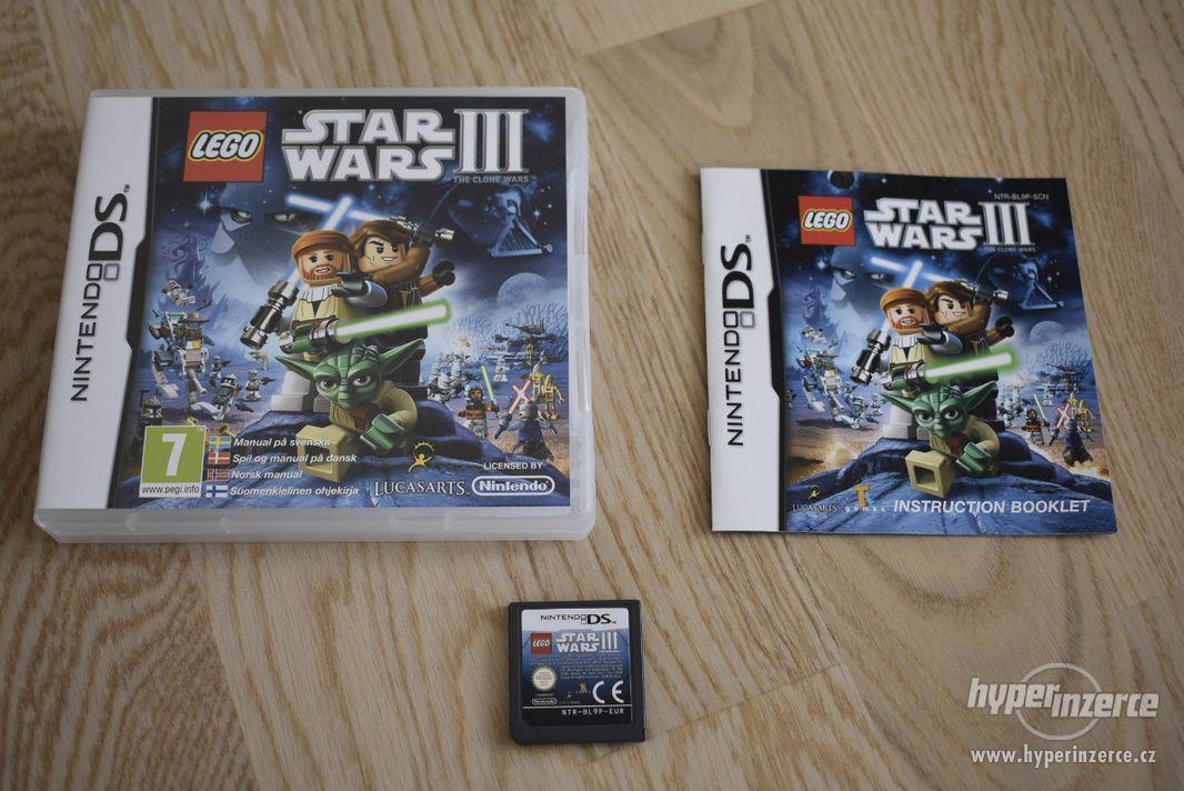 Nintendo DS - Lego Star Wars III: The Clone Wars - foto 1