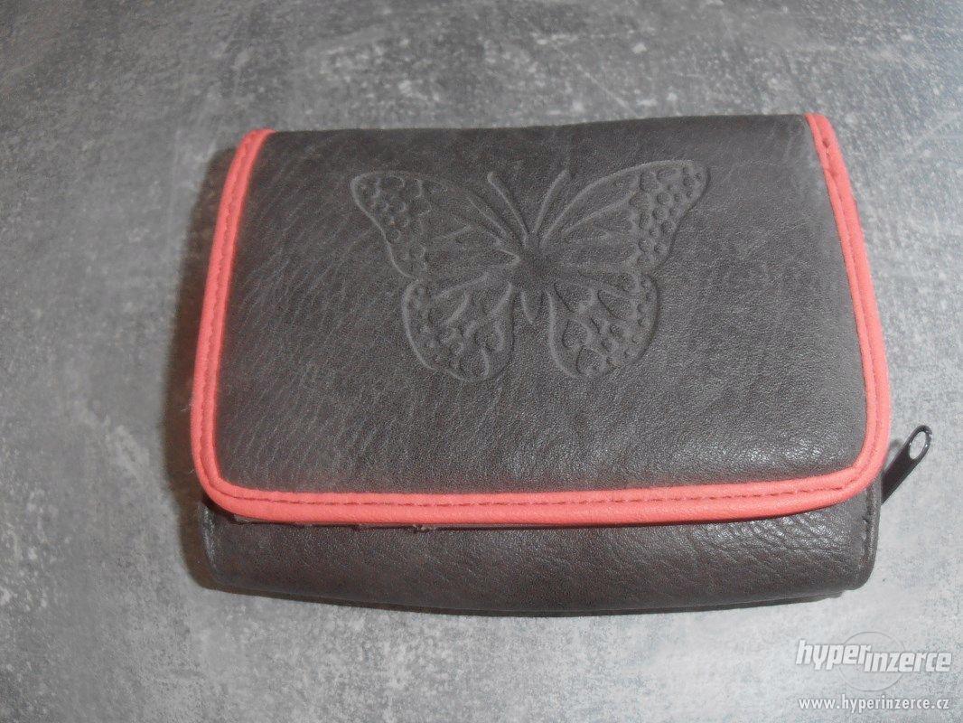 Dětská peněžěnka s motýlem - foto 1