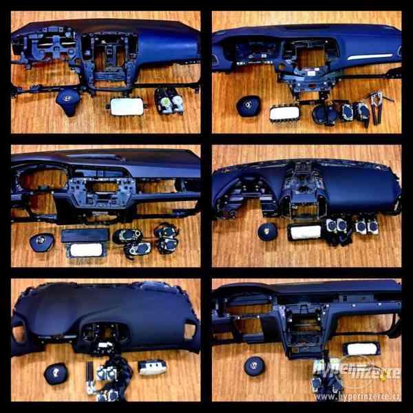 Prodáváme a opravujeme airbagy pásy palubní deska