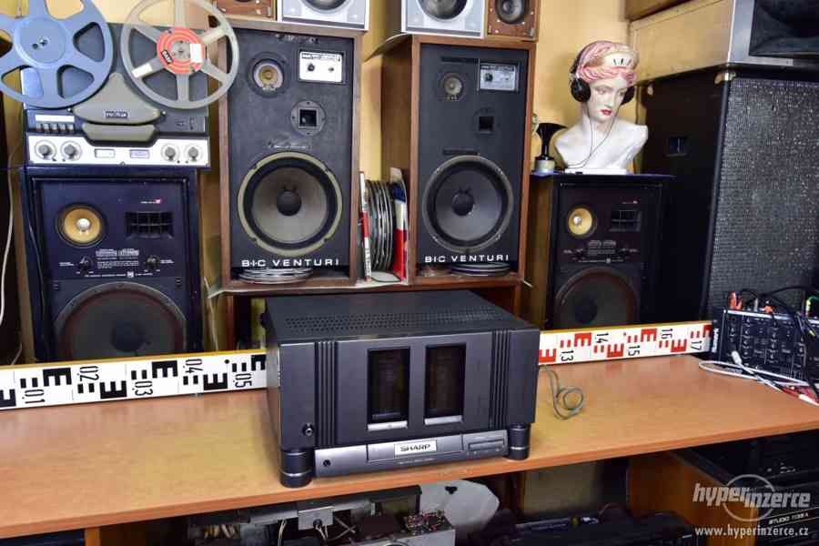 SHARP SX-8800 stereo koncový zesilovač 2x 320W upravený