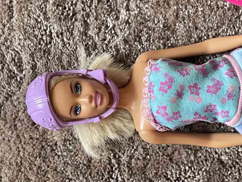 Barbie panenka sportovkyně
