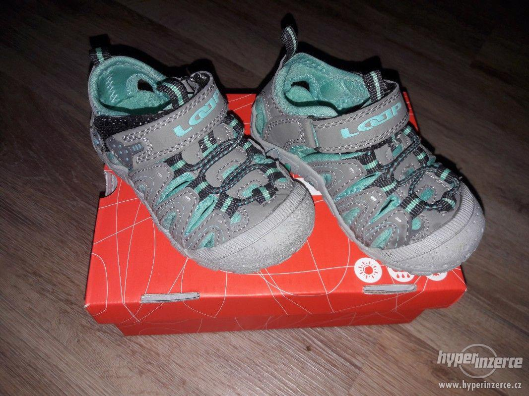 Dětská vycházková obuv SANDÁLY - foto 1