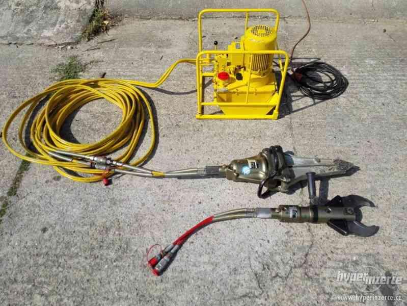 hydraulické nůžky + čerpadlo Weber hydraulik 630bar