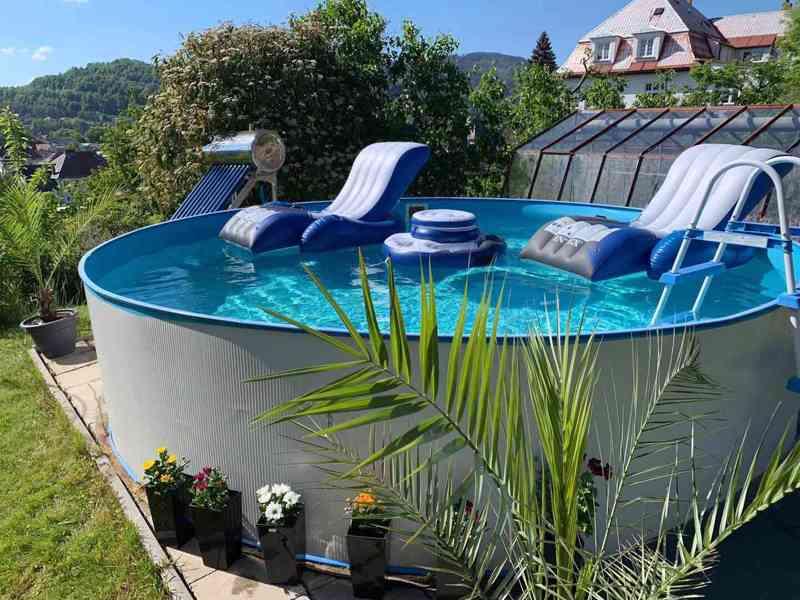Solární ohřev bazénu, All in One