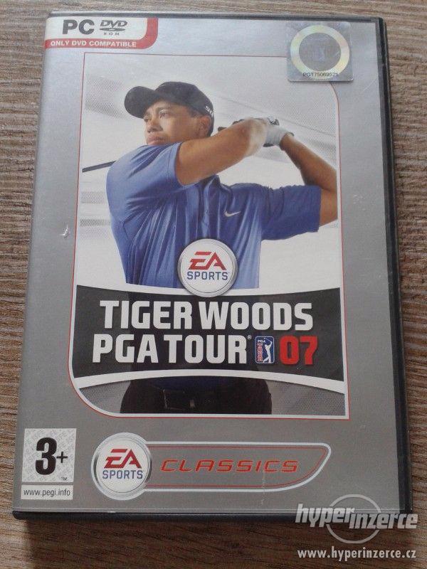 PC hra Tiger Woods PGA Tour 07 - foto 1