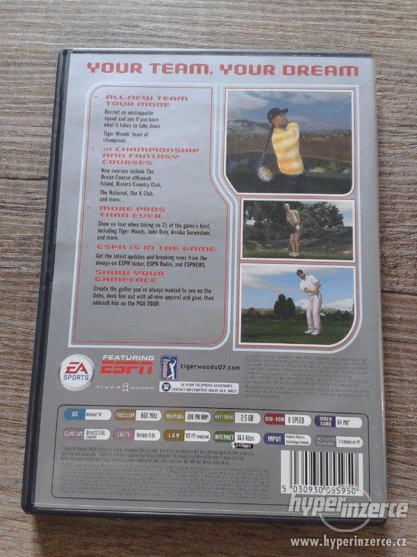 PC hra Tiger Woods PGA Tour 07 - foto 2