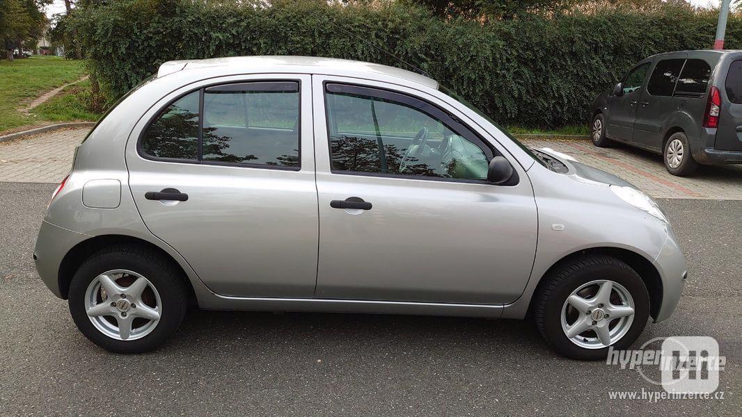 Nissan Micra 1.2-59 KW, Typ K12,Serv.kn.,Automatické svícení - foto 3