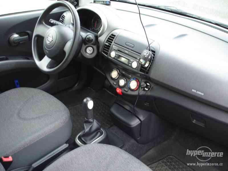 Nissan Micra 1.2-59 KW, Typ K12,Serv.kn.,Automatické svícení - foto 6