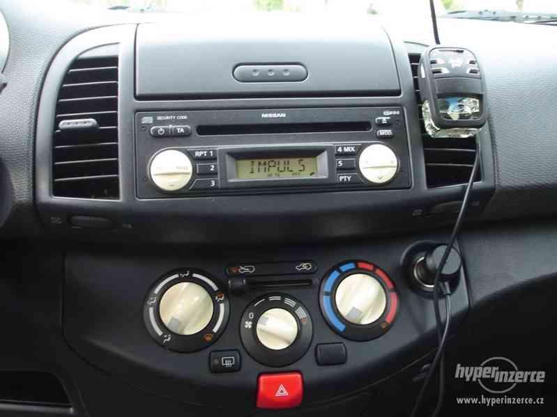 Nissan Micra 1.2-59 KW, Typ K12,Serv.kn.,Automatické svícení - foto 7