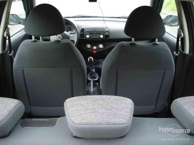 Nissan Micra 1.2-59 KW, Typ K12,Serv.kn.,Automatické svícení - foto 9