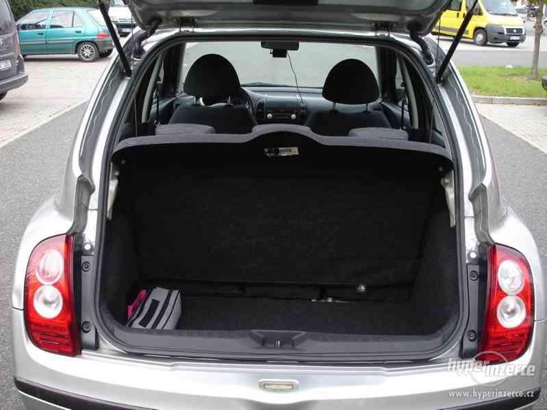 Nissan Micra 1.2-59 KW, Typ K12,Serv.kn.,Automatické svícení - foto 12